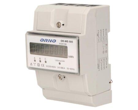 3-fazowy wskaźnik OR-WE-505  zużycia energii elek.